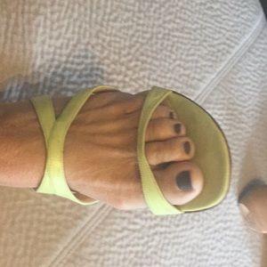 91dd58de090c7 Women Lime Green Slippers on Poshmark